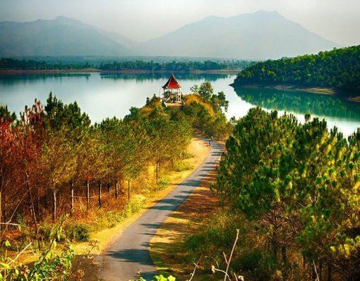 Biển Hồ T'Nưng du lich de men